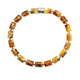 Amber bracelet Rollers in patches