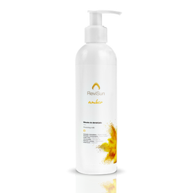 ReviSun Cleansing milk with amber.